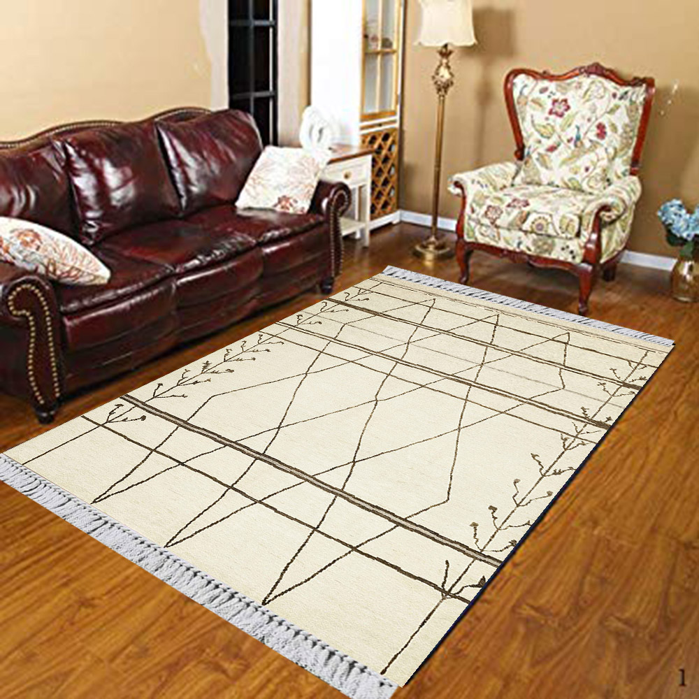 Else White Background Gray Aztec Ropes Nordec 3d Print Anti Slip Kilim Washable Decorative Kilim Area Rug Bohemian Carpet