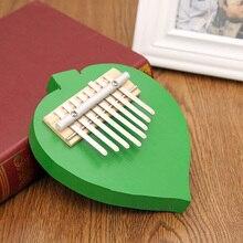 Kalimba 8 Key Thumb Piano Mbira Likembe African Thumb Pockets Fingering Piano For Musical Instruments Lovers Gift