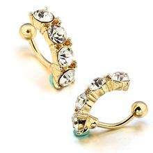 Steel Alloy Sexy Belly Navel Piercing Jewelry For Women