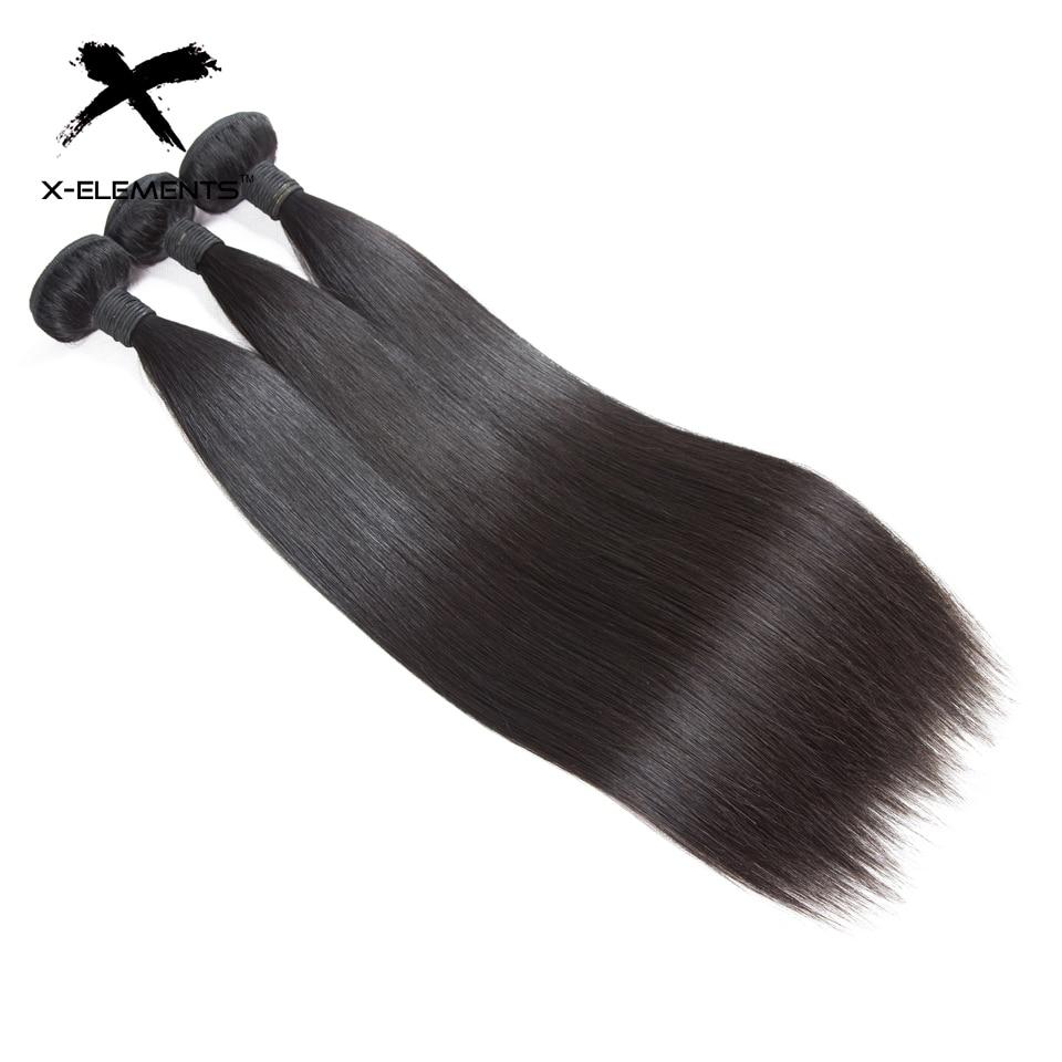 X-Elements Συσσωματώματα Ανθρώπινης - Ανθρώπινα μαλλιά (για μαύρο) - Φωτογραφία 3