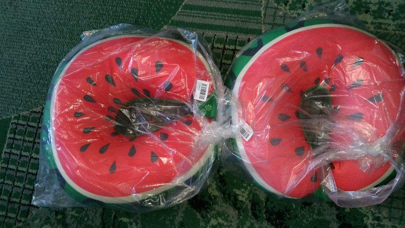 Meyve U seyahat yastık nanopartiküller boyun yastık karpuz limon kivi turuncu araba yastıklar yumuşak yastık ev tekstili