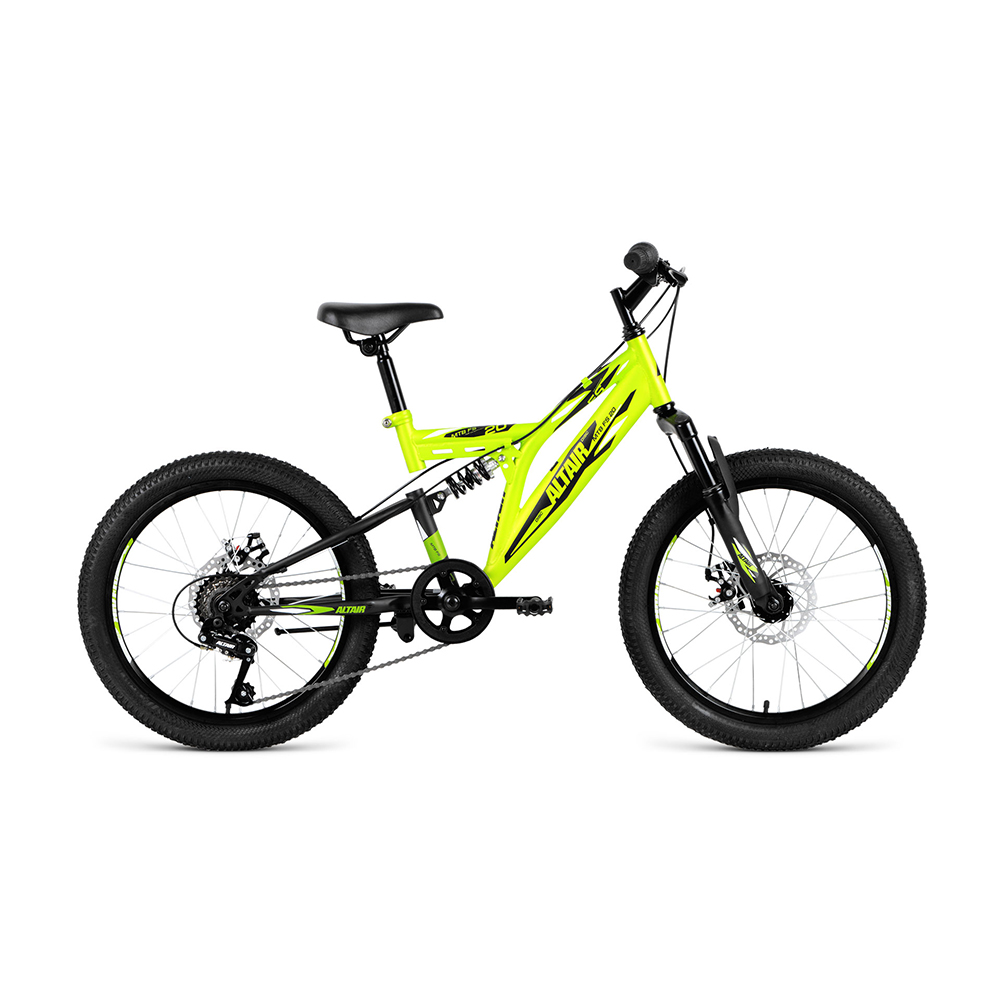 Bicycle ALTAIR MTB FS 20 disc (20 6 CK. Height 13 ) 2018-2019 цена