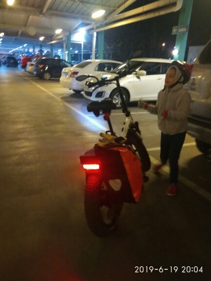 Acessórios para bicicleta elétrica Onature Taillight Bicicleta
