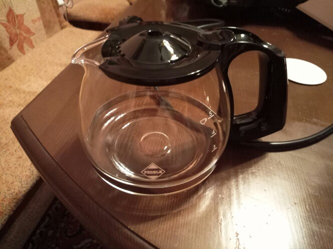 Кофемашина Comfee CF-CM2501, 600Вт, объём 650мл, поддержание температуры