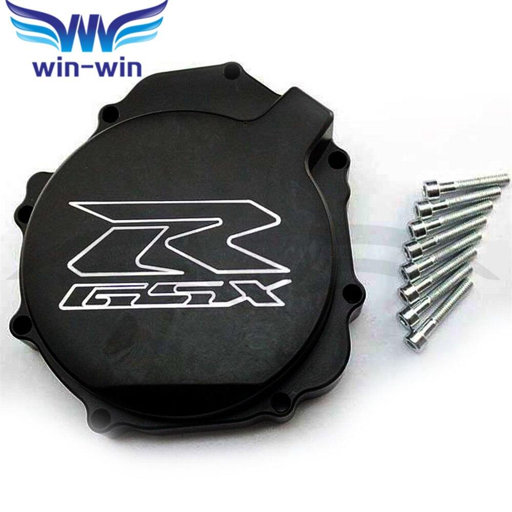 YOWLING Perfect Motorcycle Engine Stator Crank Case Cover For SUZUKI GSXR1000 GSX-R1000 GSXR GSX-R 1000 2005 2006 2007 K5 K6 K7 custom road fairing kits for suzuki glossy flat black 2006 gsxr 1000 k5 2005 gsx r1000 06 05 motorcycle fairings kit