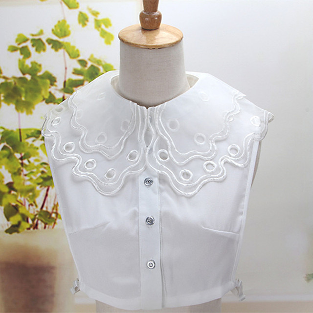 Fashion Womens Detachable Collars For Sweater Decoration Crochet
