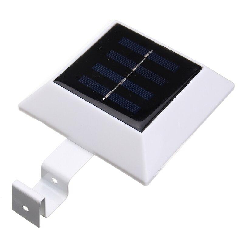 Mising Light Control LED Solar Light Waterproof LED Solar Power Wall Lamp Outdoor Garden Light Security Fence Light