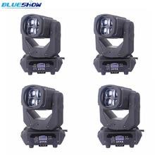 2pcs/lot, Super Beam 4x25w LED Moving Head Light RGBW 4in1 100w dmx led lights wash Stage Lighting club dj disco