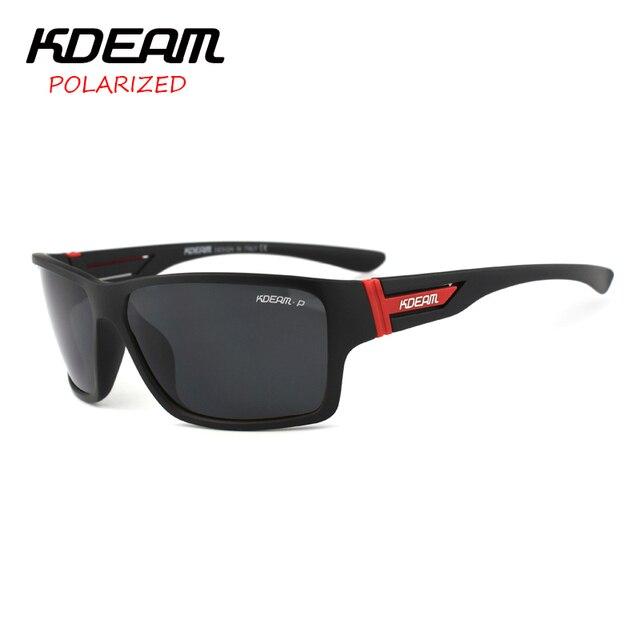 e8a5475aae Kdeam marca Gafas de sol hombres deportes Sol Gafas mujeres lente polarizada  espejo zonnebril Mannen 7