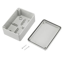 Uxcell 125x85x55mm Electronic Plastic DIY Junction Box Enclosure Case Outdoor Junction Box Waterproof Enclosure Box Housing DIY free shipping power amplifier enclosure box ip55 junction box abs plastic enclosure plastic housing for pcb 290 260 80mm