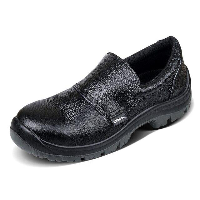 Echtes Leder Männer Schuhe Küche Kochen Koch Schuhe Leichte ...