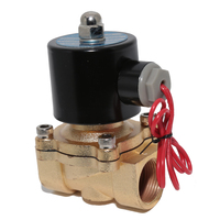AC 220V 3 4 NC Electric Solenoid Valve Zinc Alloy Body For Water Non Corrosive Oil
