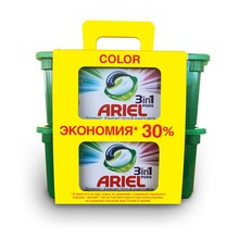 Капсулы для стирки Ariel Color 3в1 30+ 30 шт