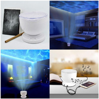 2018 New Ocean LED Colorful Light Up Projector Lamp Novelty Glow In The Dark Toys For Baby Children Bedroom Sleeping Toys