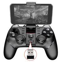 สีดำบลูทูธ+ 2.4กรัมไร้สายแบบDual Mode WirelessจับGamepadควบคุมการเล่นเกมสำหรับหุ่นยนต์แท็บ