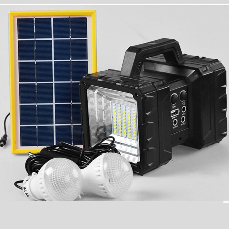 Led Portable Spotlight Work Light Rechargeable Led Work Lamp Flashlight Battery Tent Light Solar Outdoor Lamp Searching Light