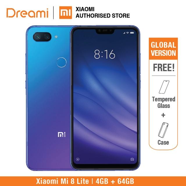 Global Version Xiaomi Mi 8 Lite 64GB 4GB Ram (Brand New and Sealed) mi8 lite 64gb