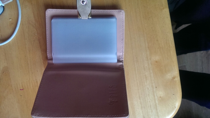 Dames nieuwe stijlvolle 20 kaartsleuven Mat PU-leder Candy Color Creditcard Portemonnee photo review