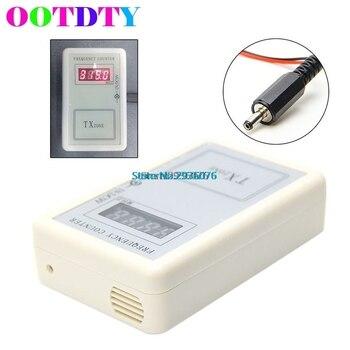 OOTDTY, contador de frecuencia, Detector de Control remoto inalámbrico de mano, contador de frecuencia, probador de 250-450 MHZ