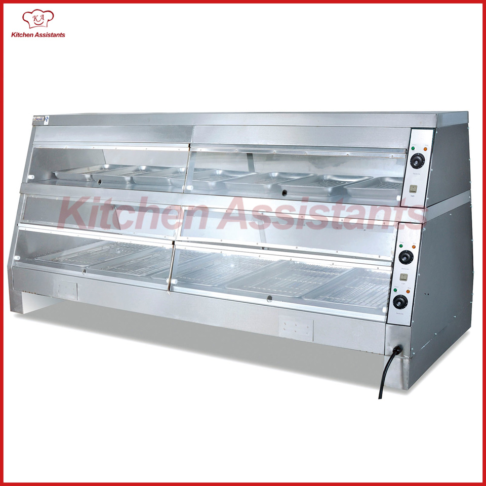 DH4P commercial KFC kitchen display food warmer showcase-in Bread ...