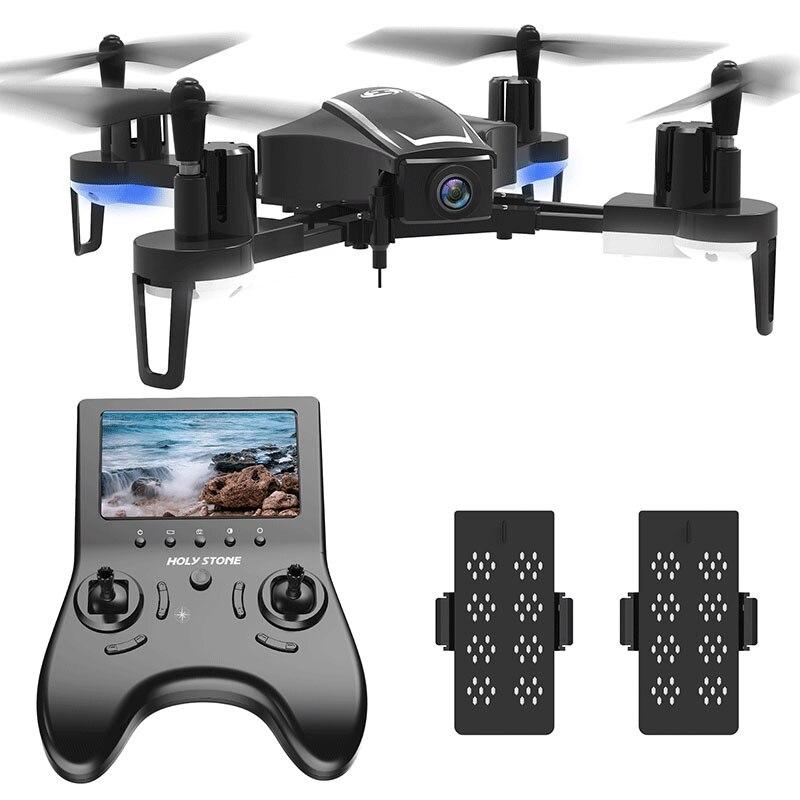[UE USA Stock] Saint Pierre HS230 Racing FPV RC Wifi Drone Selfie Aérienne 120 Angle 720 p HD 45 km/h Vitesse 5.8g LCD Écran Quadcopter