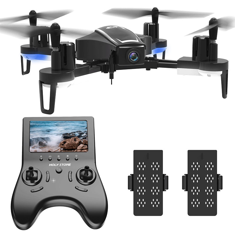 [UE USA Stock] Saint Pierre HS230 Racing FPV RC drone wifi Selfie Aérienne 120 Angle 720 P HD 45 km/h Vitesse 5.8G écran lcd quadrirotor