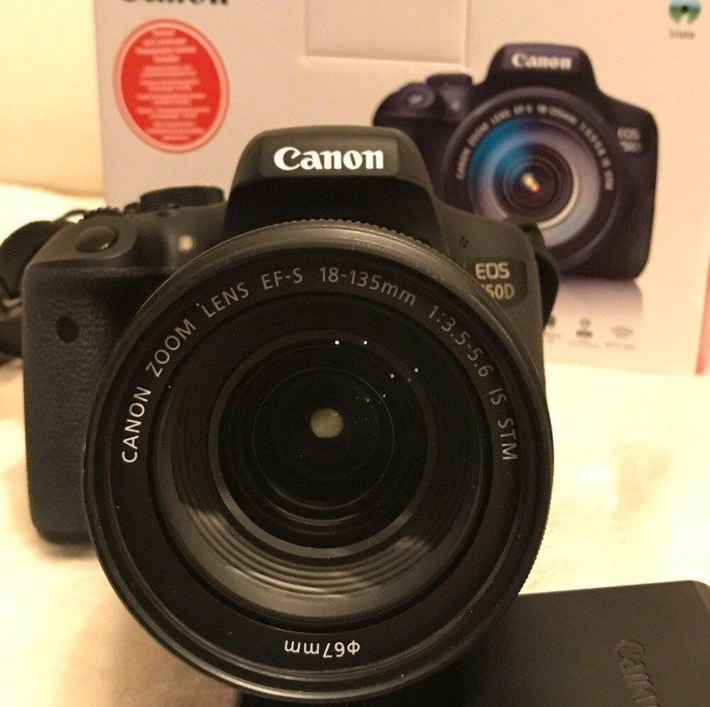 Canon EOS 750D REFLEX Caméra Corps avec EF-S 18-135mm EST STM Objectif