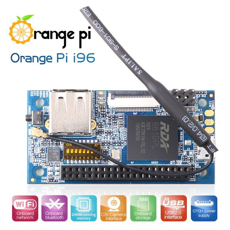 Laranja pi i96 256 mb Cortex-A5 32bit com wifi/bluetooth/câmera funções placa de desenvolvimento