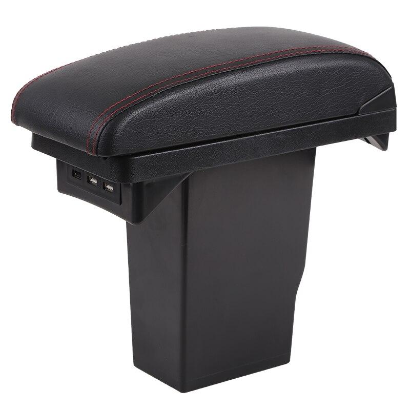 For Peugeot 2008 armrest box Peugeot 301 Citroen C3 XR Elysee armrest box Universal Central Storage