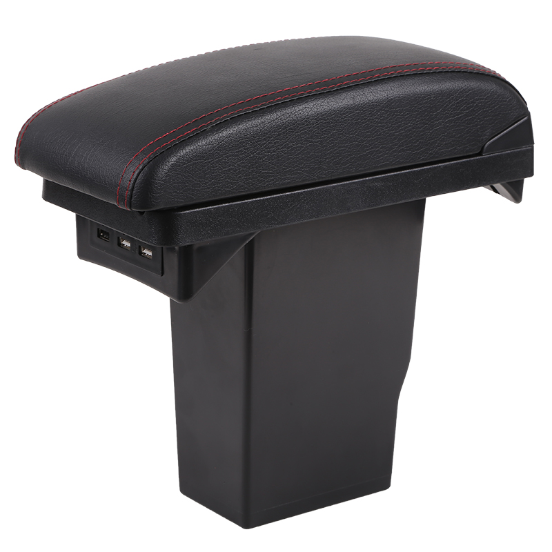 For Peugeot 2008 armrest box Peugeot 301 Citroen C3-XR Elysee armrest box Universal Central Storage Box modification accessories pu for citroen c elysee peugeot 301 2014 2016 armrest central store content storage box with cup holder ashtray accessories