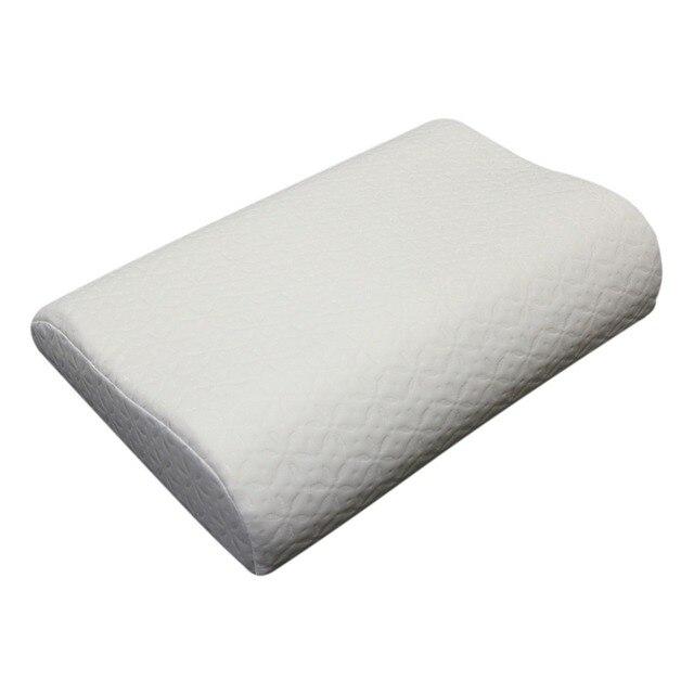 Ортопедическая подушка из мягкой пены с эффектом памяти, массаж шеи и возврат в исходное положение Memory (50*32*10/8)