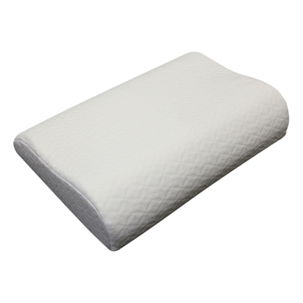 Soft Memory Foam Neck Sleeping Pillow Massager Fiber Slow Rebound Foam Travel Home Bedding Orthopedic Pillow Memory (50*32*10/8) memory foam space pillow slow rebound magnet therapy throw pillows neck cervical healthcare neck pillow ostrich pillow 30 x 50cm