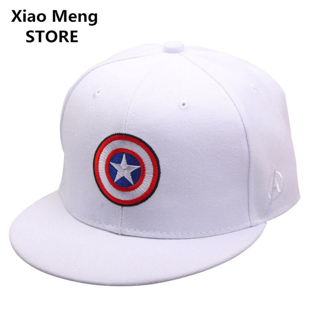 a5664ac656a15 2017 Marvel s The Avengers Baseball Cap Hat Men Women Adjustable Captain  America Snapback Hats Hip Hop Caps Casquette Bone M19. Price
