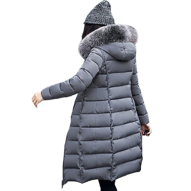 Nouvelles Femmes Manteau D'hiver De Mode À Capuchon Épaississement Super chaud Moyen long Parkas manches Longues Lâche Grands chantiers Veste Chaude