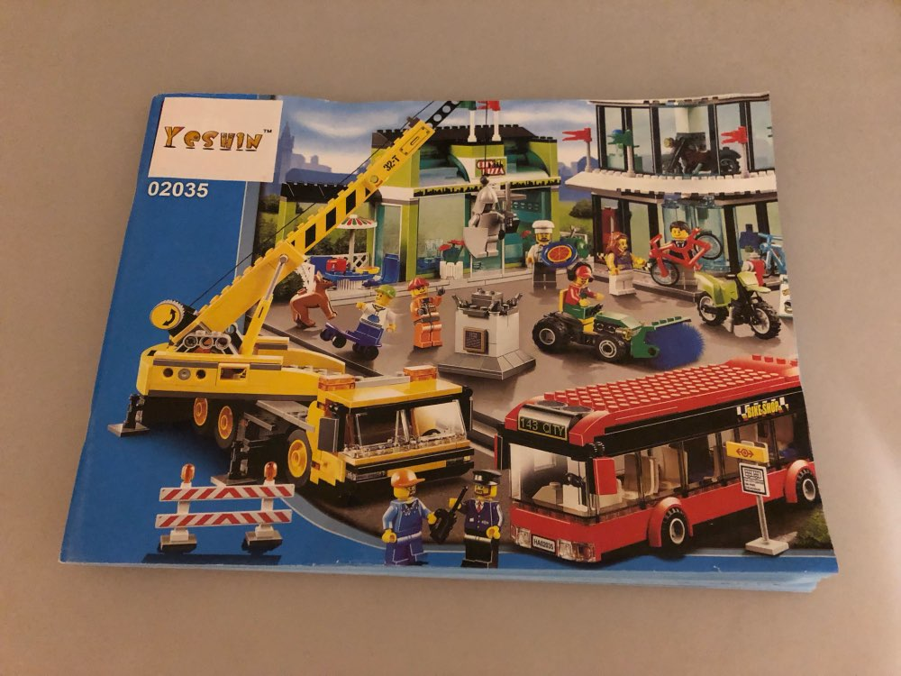 LEPIN 02035 Town Square Block Set (1024Pcs) photo review