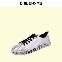CHILENXAS 2017 spring autumn large size lightweight breathable leather font b shoes b font men font