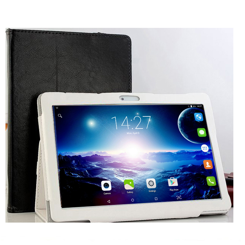 10.1' Tablets Android 7.0 10 Core 128GB ROM Dual Camera 8MP Dual SIM Tablet PC  GPS bluetooth phone MT6797 Free Gift Case Cover