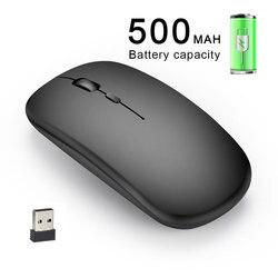 M80 2.4G ładowania bezprzewodowego myszy mysz optyczna bezszumowa 1600 w DPI urząd pracy Notebook sterowania dla domu Tablet
