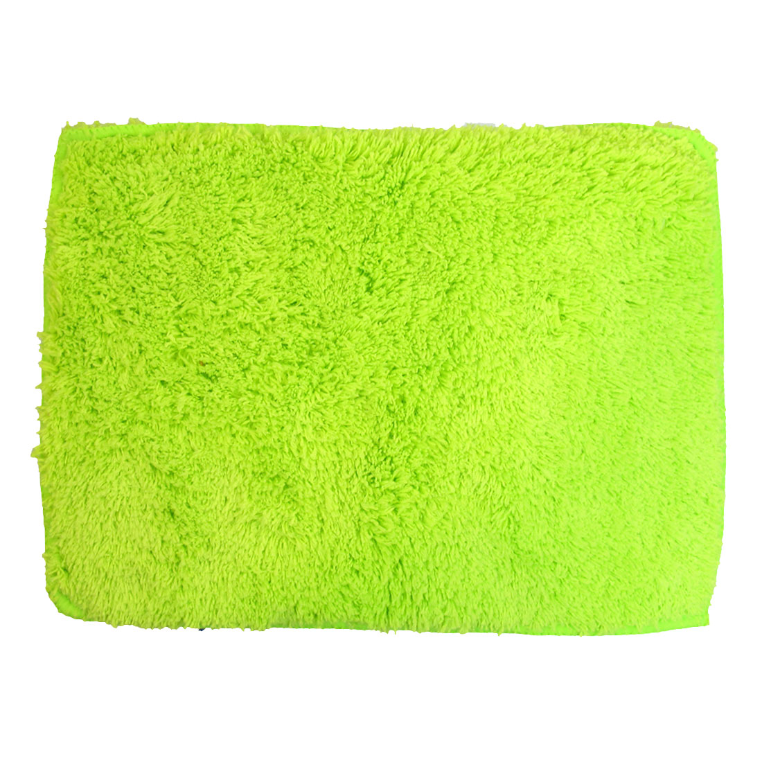 UXCELL Vehicle Car Door Glass Rectangle Shape Wash Towel Cloth Cleaning Tool Green