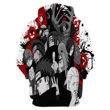 Naruto Kyuubi Mode Print Hoodie
