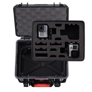 Image 2 - Smatree GA700 3 Impermeabile Scatola Dura Trasporta la Cassa per Gopro hero 8/7/6/5/4/ 3 +, per Xiaomi Yi 4 K/SJCAM cassa della Macchina Fotografica di Azione