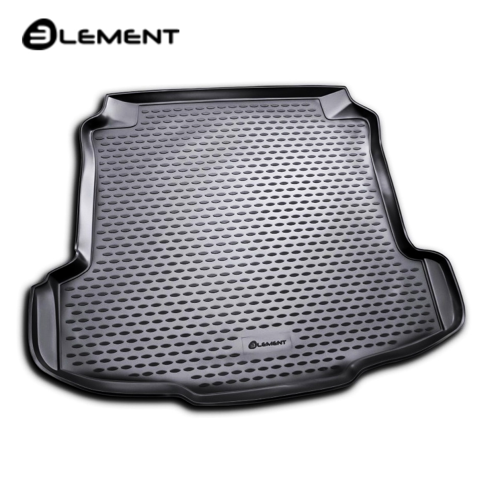 For Volkswagen Polo Sedan 2009-2019 trunk mat (Element NLC5130B10) for volkswagen polo sedan 2010 2019 trunk mat rival 15804002