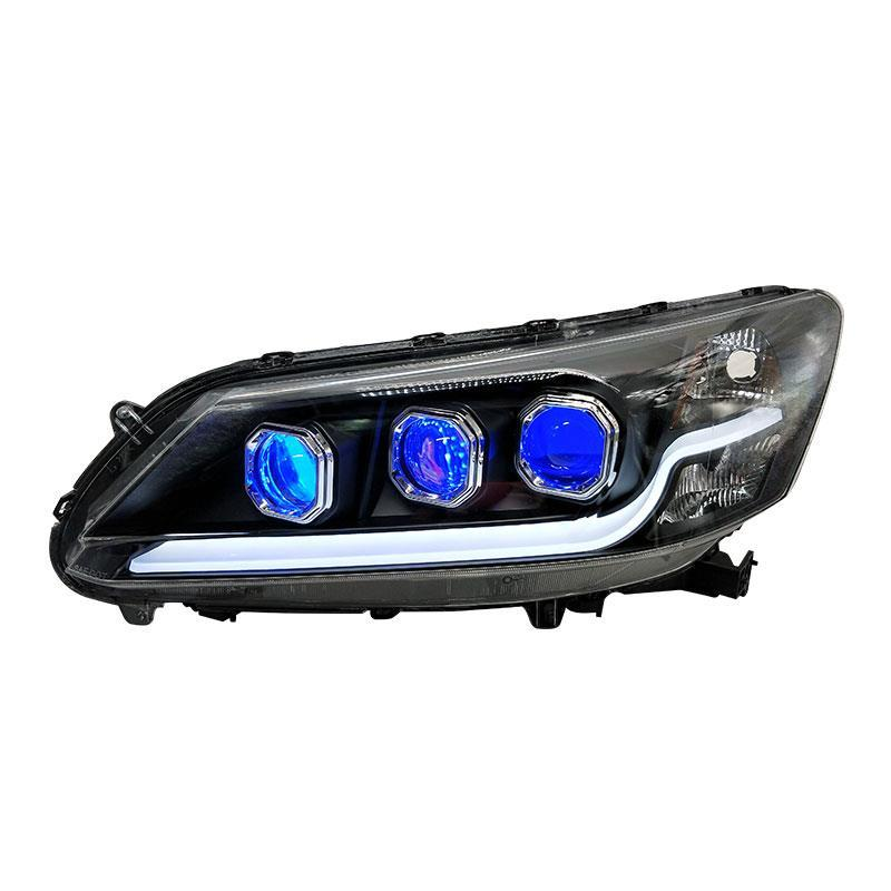 Front Fog Headlights Drl Lamp Automobiles Parts Styling Luces Para Auto Daytime Running Car Led Lights For Honda Accord daytiime running lights car styling for v olvo xc60 2009 2013 drl led auto parts
