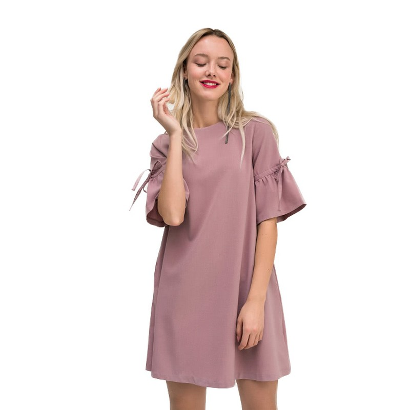 Dresses dress befree for female  half sleeve women clothes apparel  casual spring 1811347569-90 TmallFS