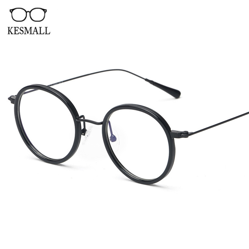 KESMALL Fashion High Quality Gaming Spectacle Frames Men Computer Glasses Women Ultra-light Retro Myopia Eyeglasses New Hot XN73 ...