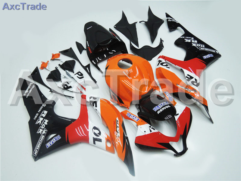 Motorcycle Fairings For Honda CBR600RR CBR600 CBR 600 RR 2007 2008 07 08 F5 ABS Plastic Injection Fairing Bodywork Kit REPsoL abs injection fairings kit for honda 600 rr f5 fairing set 07 08 cbr600rr cbr 600rr 2007 2008 castrol motorcycle bodywork part