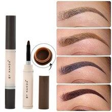 Makeup Long Lasting Eye Brow Dye Cream Pencil Brush Cream Beauty Cosmetic Tool