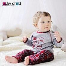 Пижама Lucky Child для мальчиков и девочек 3T-8T [сделано в России, доставка от 2-х дней]