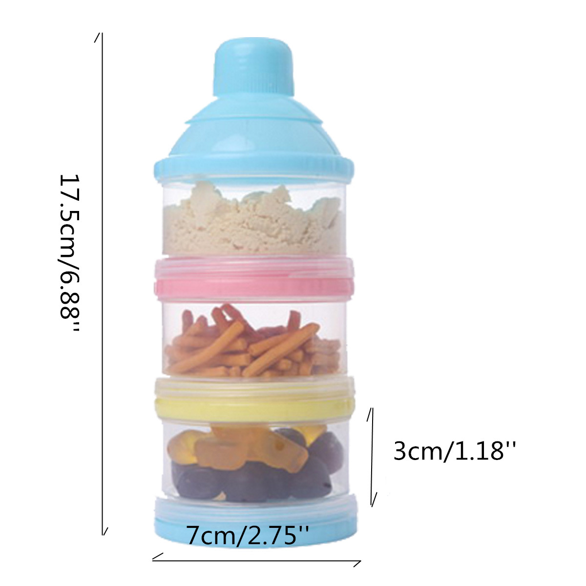 3 Layer Portable Container Infant Food Milk Feeding Powder Dispenser Bottle Baby Travel Storage Box Products-in Baby Food Storage from Mother u0026 Kids on ...  sc 1 st  AliExpress.com & 3 Layer Portable Container Infant Food Milk Feeding Powder Dispenser Bottle Baby Travel Storage Box Products-in Baby Food Storage from Mother u0026 Kids ...