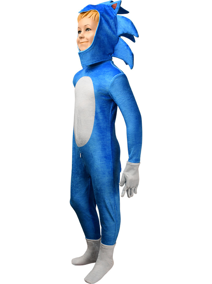 Kids Movie Sonic The Hedgehog Jumpsuit Cosplay Animal Hedgehog Costume Halloween Costume X Mas Gift Comic Con Video Game Suit Boys Costumes Aliexpress